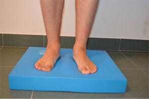 Allenamento del piede: tappetino Airex Balance