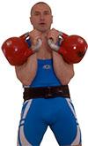 kettlebell rack position posizione corretta / errata