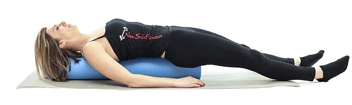 pilates con il foam roller