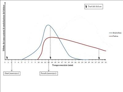 Andamento temporale dei meccanismi di modulazione del dolore.  Figura 4.1