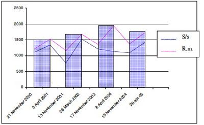 grafico tredici