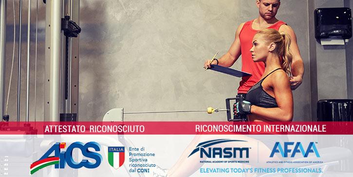 Corso Istruttore Fitness E Body Building
