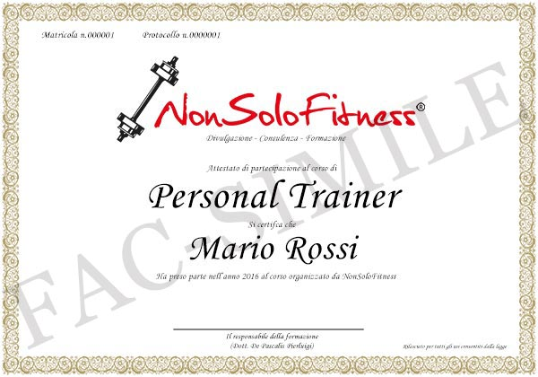 diploma Personal Trainer
