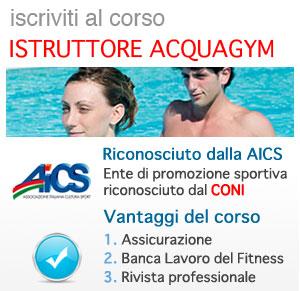 Acquagym: Istruttore Aerobica e Step AICS CONI