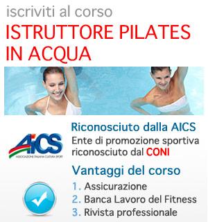 AICS / CONI: dventa Istruttore Pilates in acqua