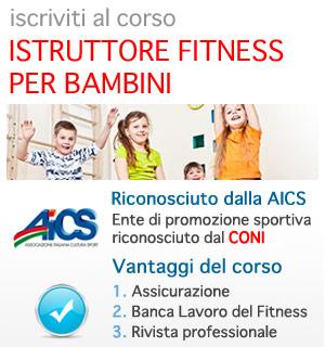 Istruttore Fitness per Bambini AICS CONI