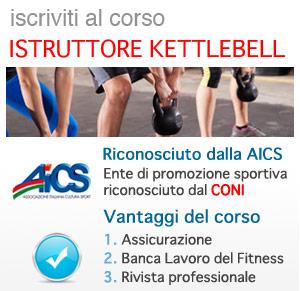 Kettlebell, diventa Istruttore CONI AICS