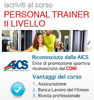 Corso Personal Trainer II livello AICS - CONI