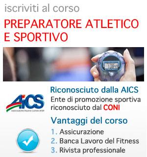 Preparatore Atletico e Sportivo AICS CONI