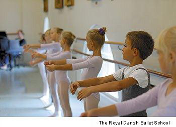 the Royal dance ballet school